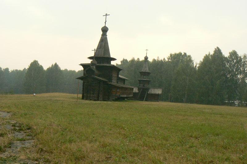 Историко-архитектурный <br><br>музей под открытым небом. Церковь Спаса Нерукотворного образа. Зашиверск