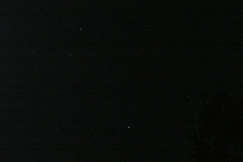 И звездное небо над головой...