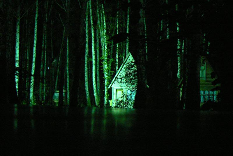Ночная съемка. Лунный свет