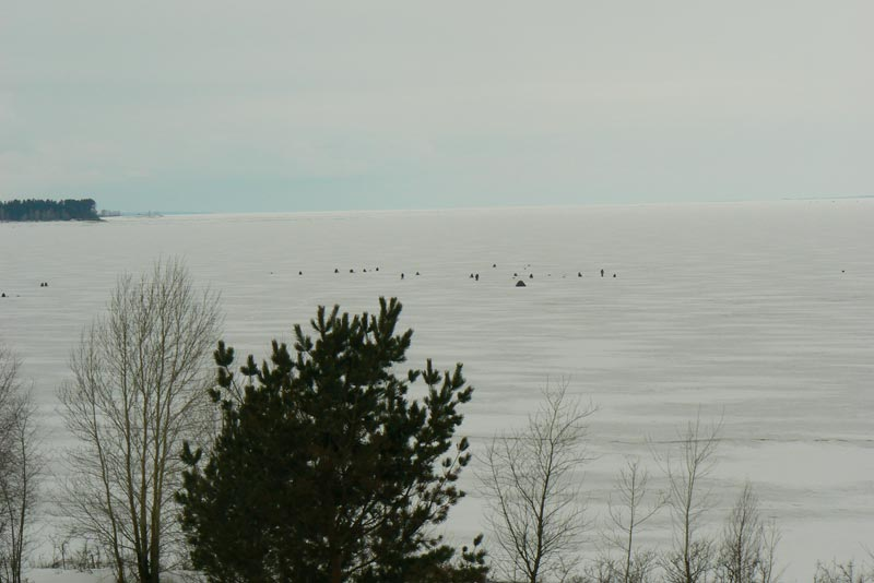 Обское море. 25 марта 2012.