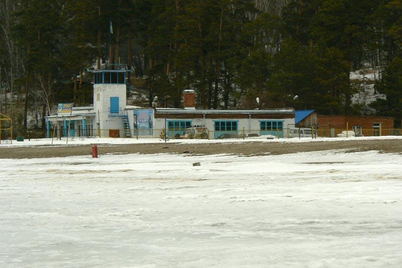 Обское море. 25 марта 2012. Центральный пляж