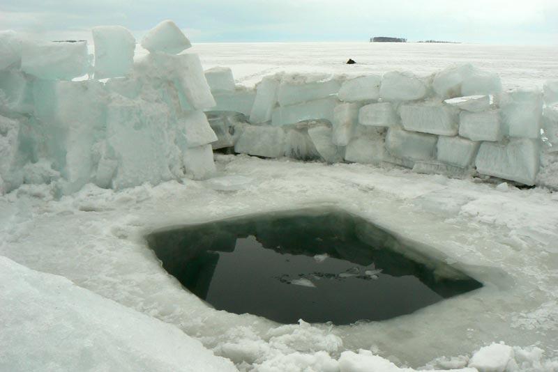 Обское море. 25 марта 2012. Сибирские термы